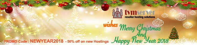 50% off on all new hosting orders from tvmserver